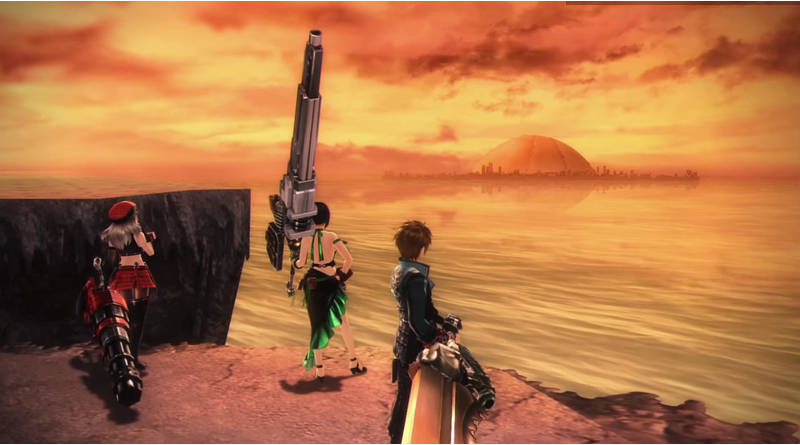 God Eater Resurrection PS Vita Gameplay Trailer