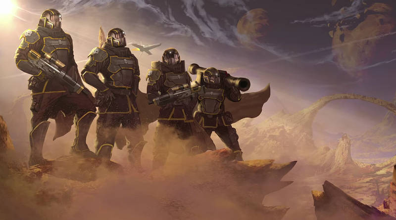 HellDivers Physical Release PS Vita PS4