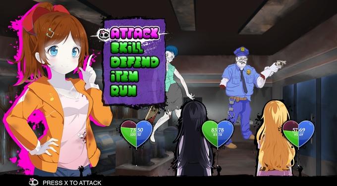 Undead Darlings: No Cure For Love Kickstarter PS Vita