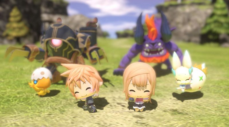 World of Final Fantasy announced for PS Vita