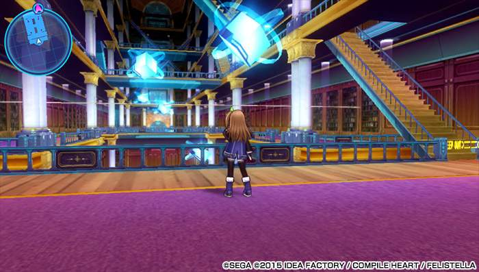 Hyperdimension War Neptunia VS Sega Hard Girls: Dream Fusion Special PS Vita