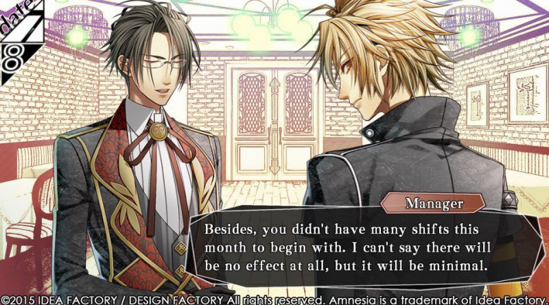 Amnesia Memories PS Vita