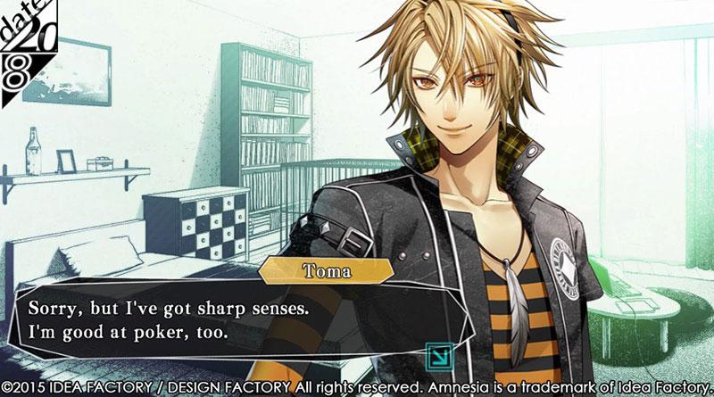 Amnesia: Memories PS Vita Toma