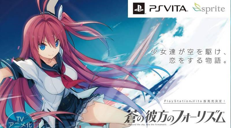 Ao no Kanata no Four Rhythm PS Vita