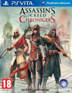 Assassin's Creed Chronicles PS Vita Box Art