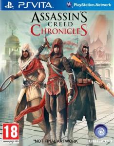 Assassin's Creed Chronicles PS Vita Box Art