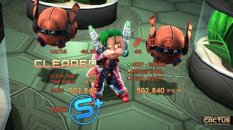 Assautl Android Cactus PS Vita