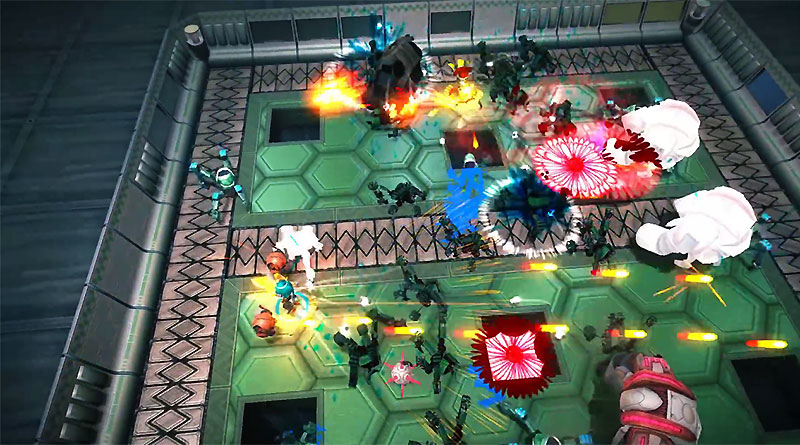 Assault Android Cactus PS Vita Mega Weapons