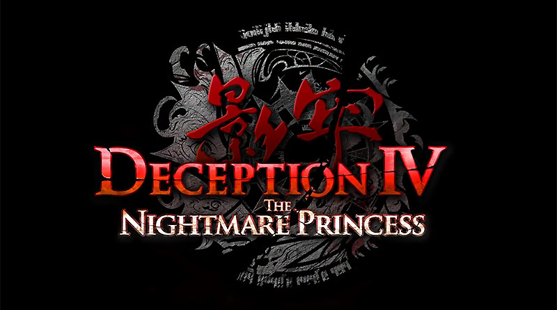 Deception IV: The Nightmare Princess PS Vita PS3 PS4