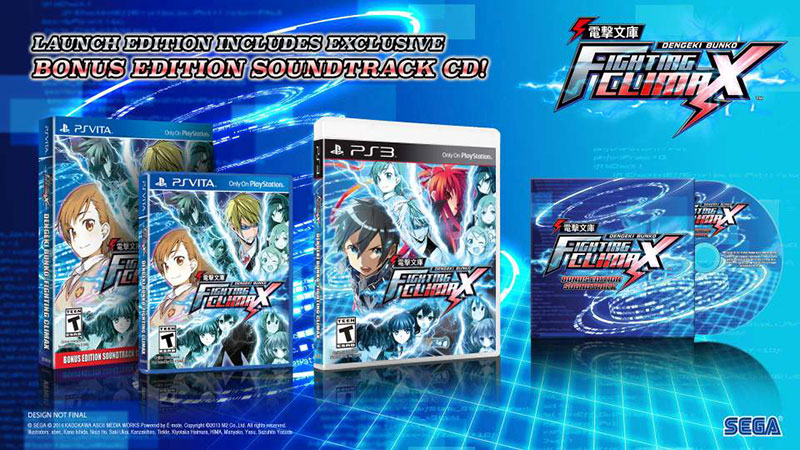 Dengeki Bunko: Fighting Climax PS Vita PS3