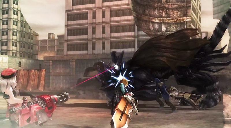 God Eater Resurrection PS Vita PS3 PS4