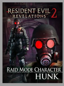 Resident Evil: Revelations 2 PS Vita Raid Mode Character HUNK