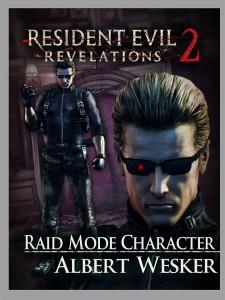 Resident Evil: Revelations 2 PS Vita Raid Mode Character Albert Wesker