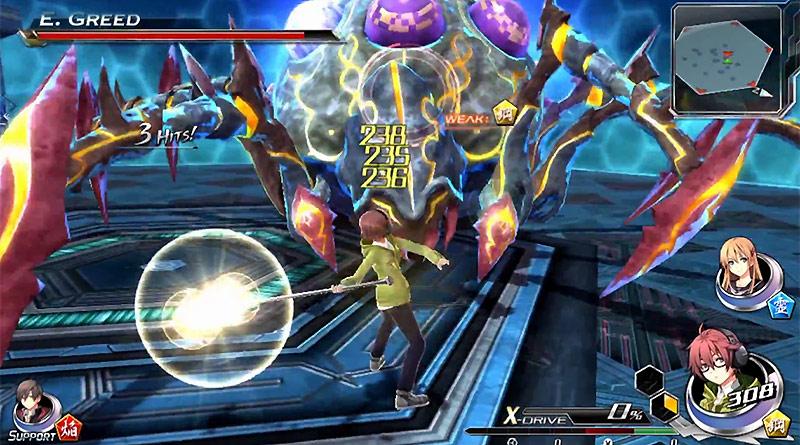Tokyo Xanadu PS Vita Trailer