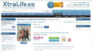 xtralife.es Assassin's Creed Chronicles PS Vita