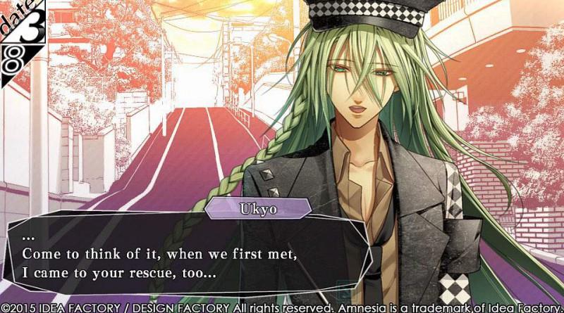 Amnesia: Memories PS Vita Ukyo