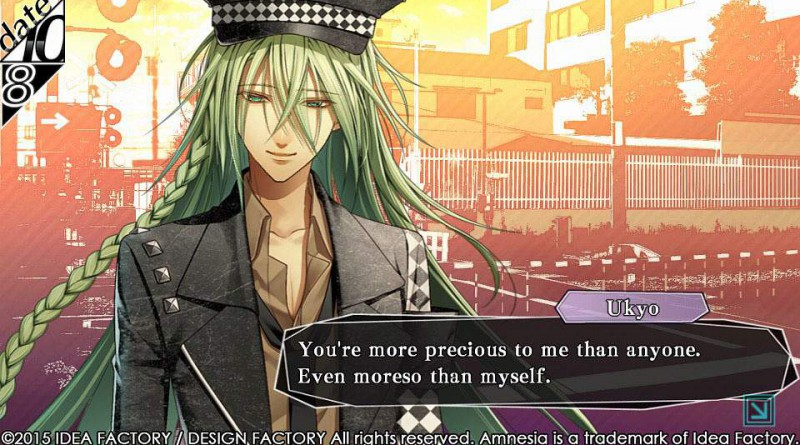 Amnesia: Memories PS Vita Ukyo