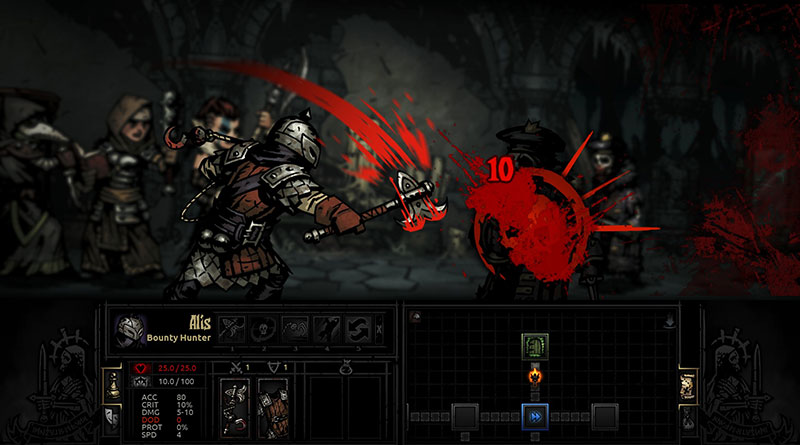 Darkest Dungeon PS Vita PS4