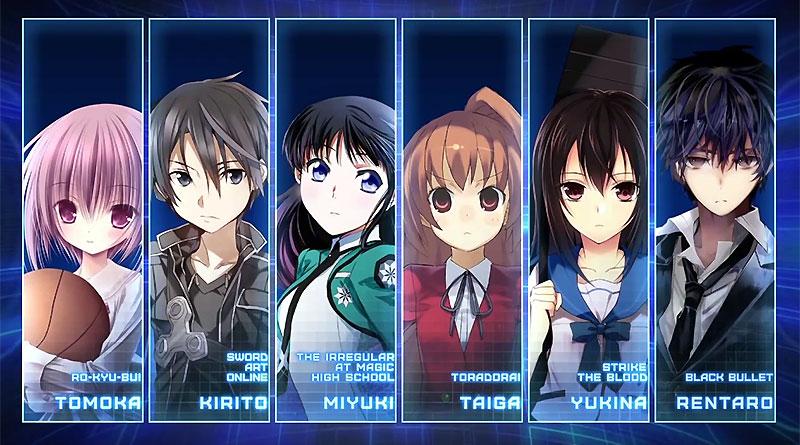 Dengeki Bunko: Fighting Climax PS Vita PS3 Opening Movie