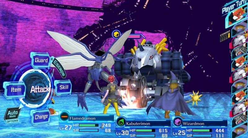 Digimon Story: Cyber Sleuth PS Vita PS4 English Screenshot