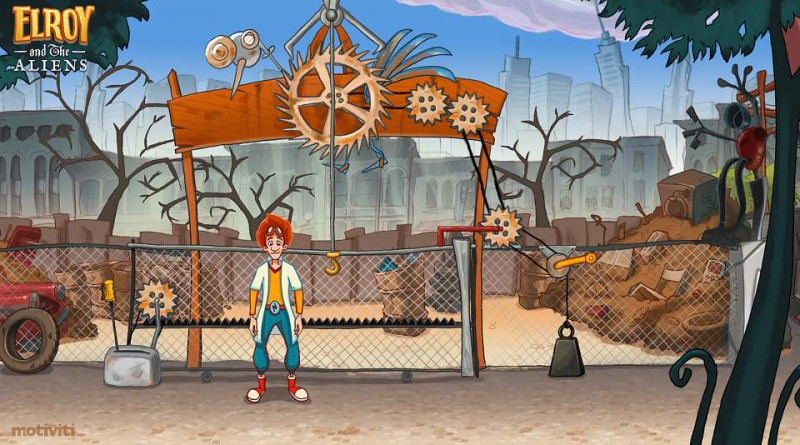 Elroy And The Aliens PS Vita
