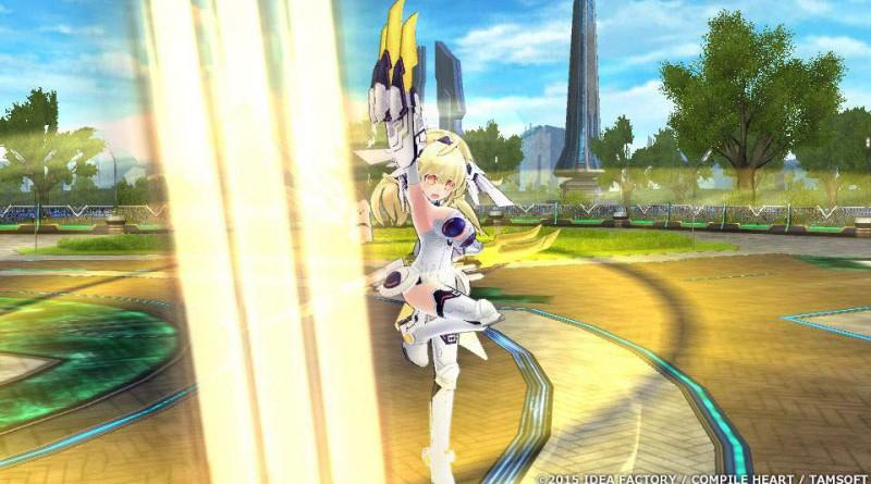Extreme Dimension Tag Blanc + Neptune VS Zombie Army PS Vita