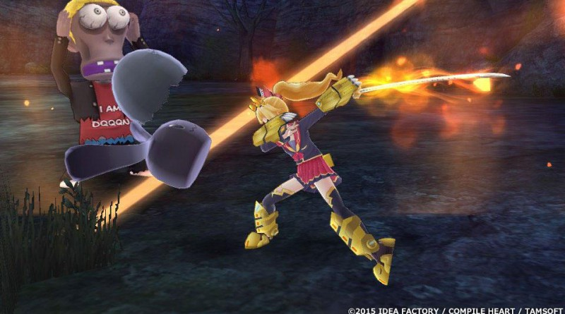 Extreme Dimension Tag Blanc + Neptune VS Zombie Army PS Vita