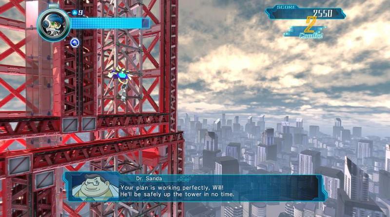 Mighty No. 9 PS Vita PS3 PS4
