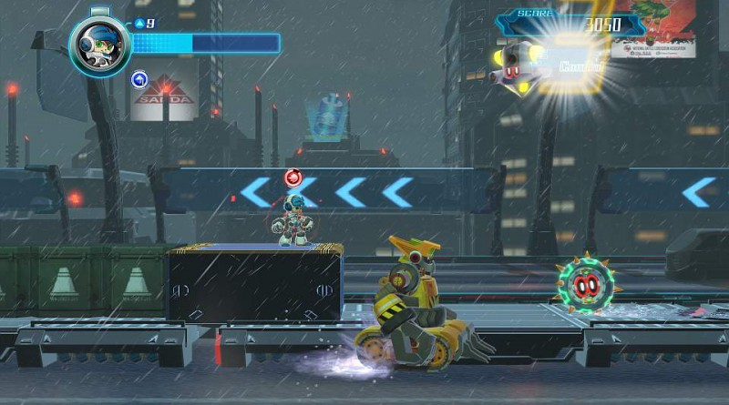 Mighty No. 9 PS Vita PS3 PS4
