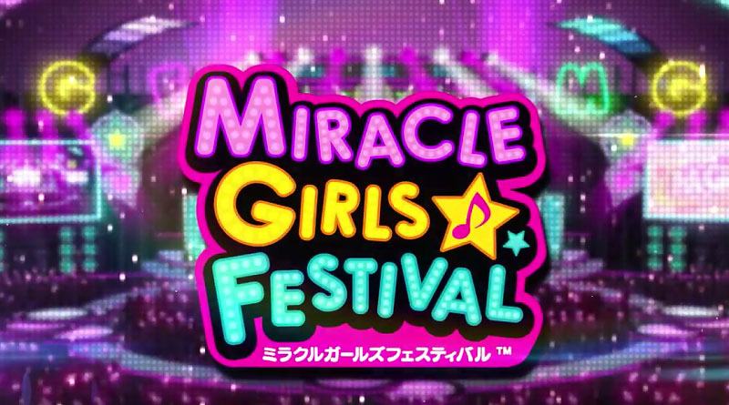 Miracle Girls Festival PS Vita First Trailer