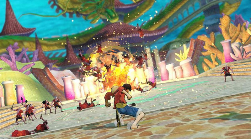 One Piece: Pirate Warriors 3 PS Vita PS3 PS4