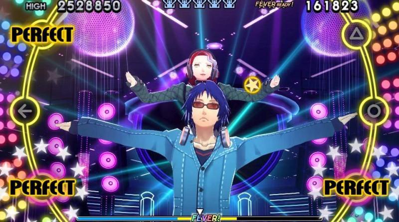 Persona 4: Dancing All Night PS Vita Yosuke and Kanji