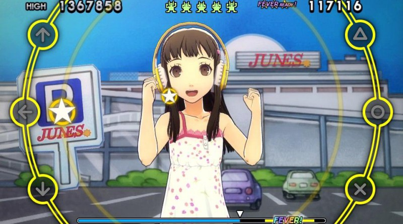 Persona 4: Dancing All Night PS Vita