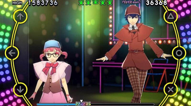 Persona 4: Dancing All Night PS Vita Naoto Shirogane