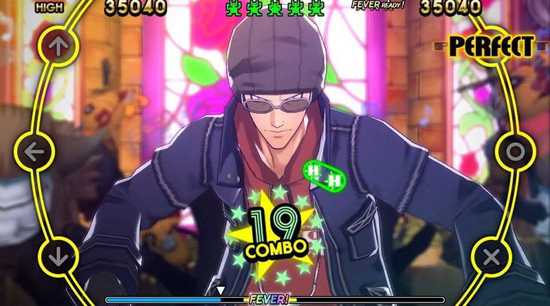 Persona 4: Dancing All Night PS Vita Yosuke and Kanji
