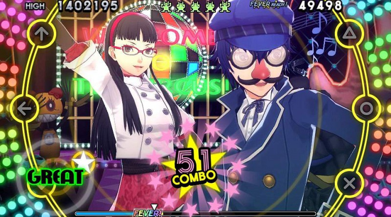 Persona 4: Dancing All Night Yukiko Swimsuit DLC PS Vita
