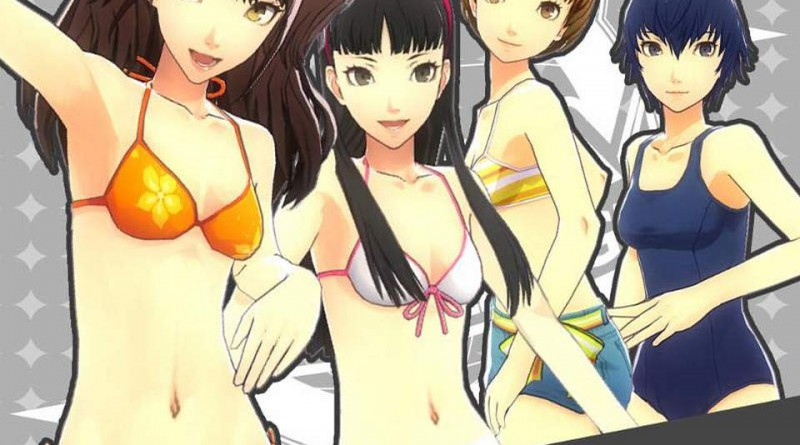 Persona 4: Dancing All Night Yukiko Swimsuit DLC PS Vita