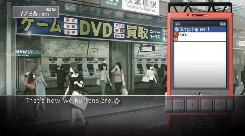 Steins;Gate PS Vita PS3 Screenshots