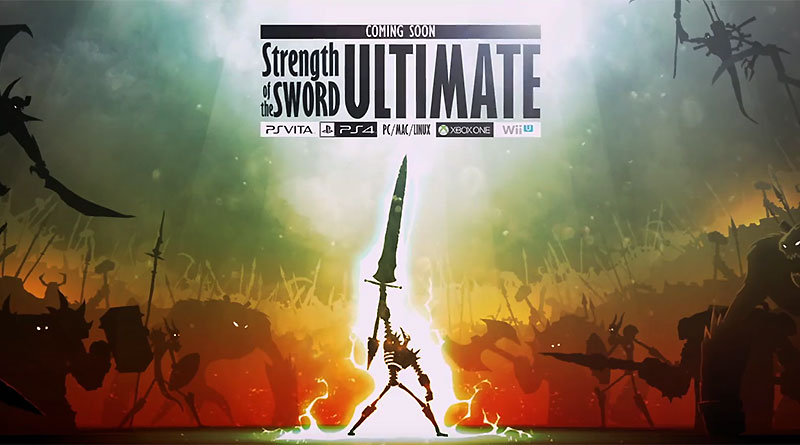 Strength Of The Sword: Ultimate PS Vita PS4