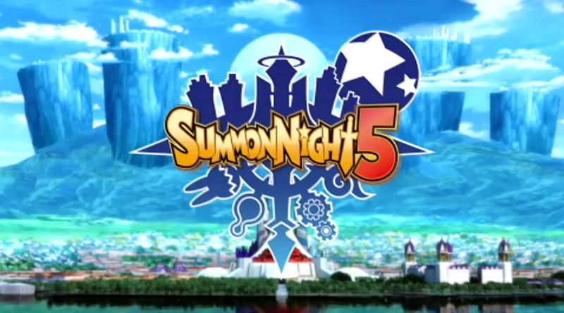 Summon Night 5 PSP PS Vita English Gameplay Trailer