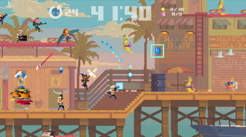 Super Time Force Ultra PS Vita PS4