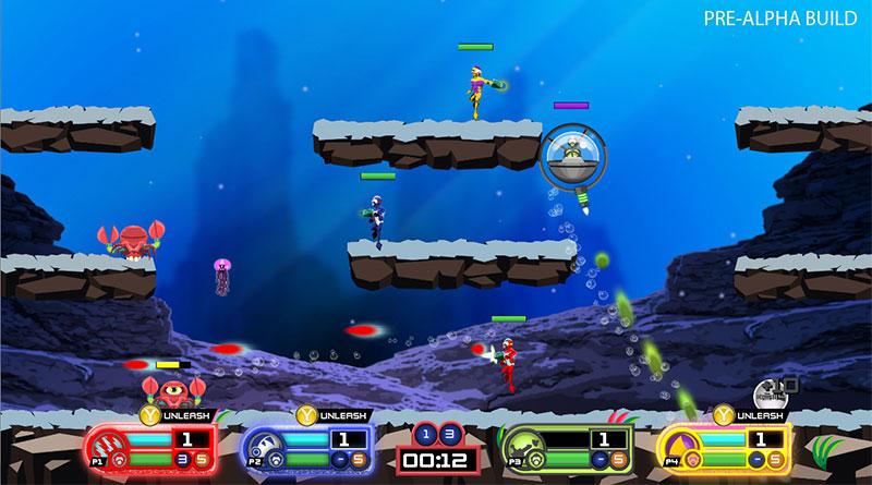 Swimsanity: Underwater Brawler PS Vita PS3 PS4