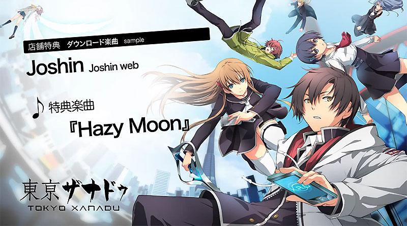 Tokyo Xanadu Trailer PS Vita OST Samples