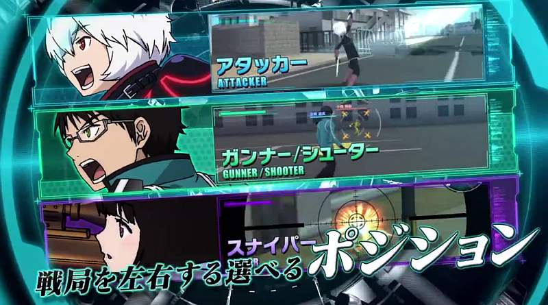 World Trigger: Borderless PS Vita TV Commercial