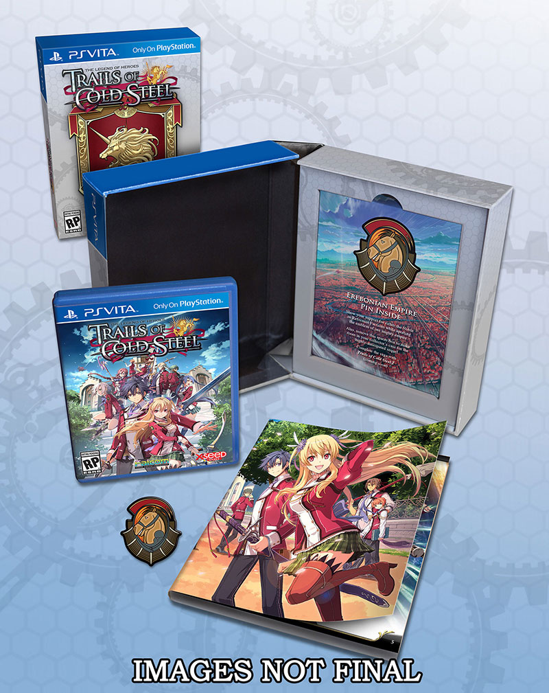 The Legend of Heroes: Trails of Cold Steel Lionheart Limited Edition PS Vita PS3