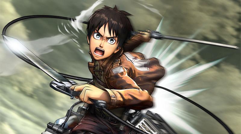 Attack On Titan PS Vita PS3 PS4 New Trailer