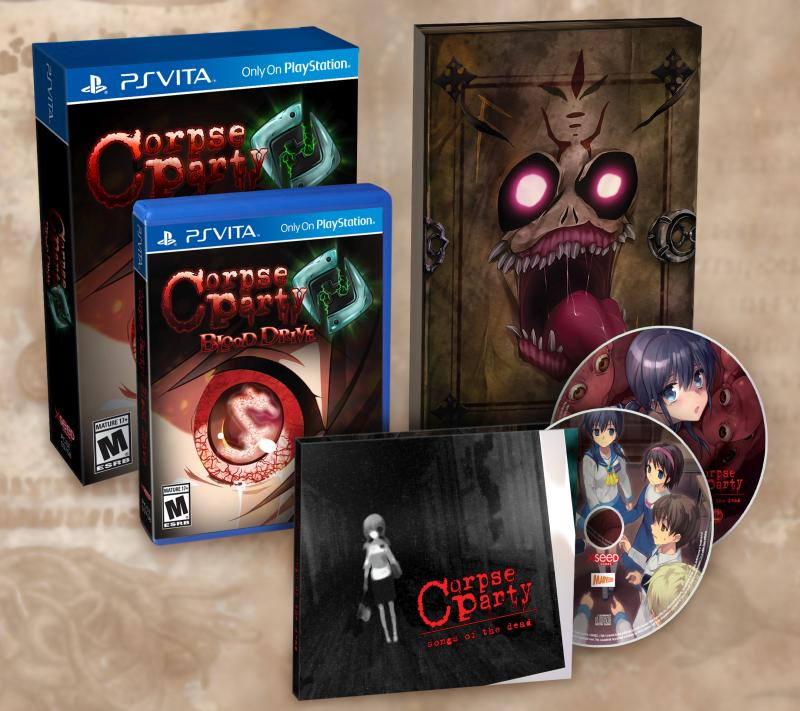 Corpse Party: Blood Drive PS Vita Everafter Edition