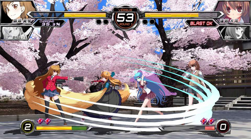 Dengeki Bunko: Fighting Climax PS Vita North America Europe