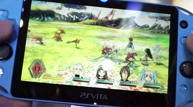 Exist Archive: The Other Side Of The Sky PS Vita Hands-On Video Tokyo Game Show 2015 TGS