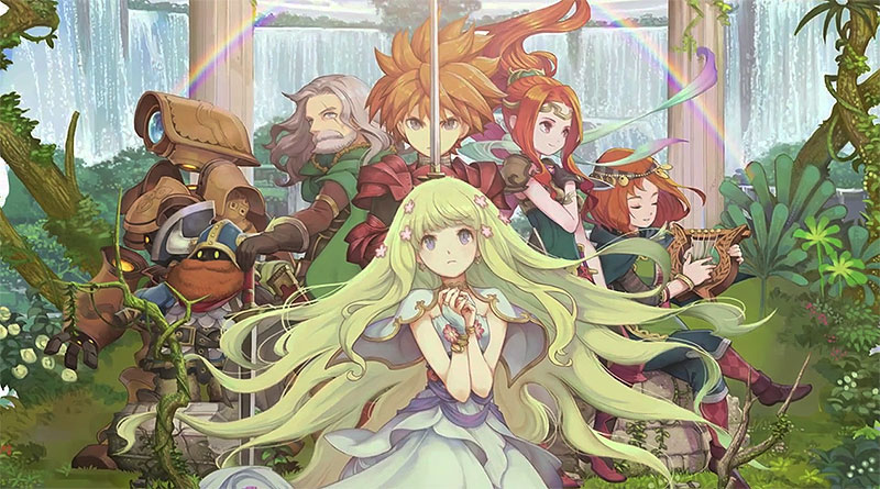 Final Fantasy Adventure Remake Seiken Densetsu: Final Fantasy Gaiden PS Vita iOS Android Smartphones